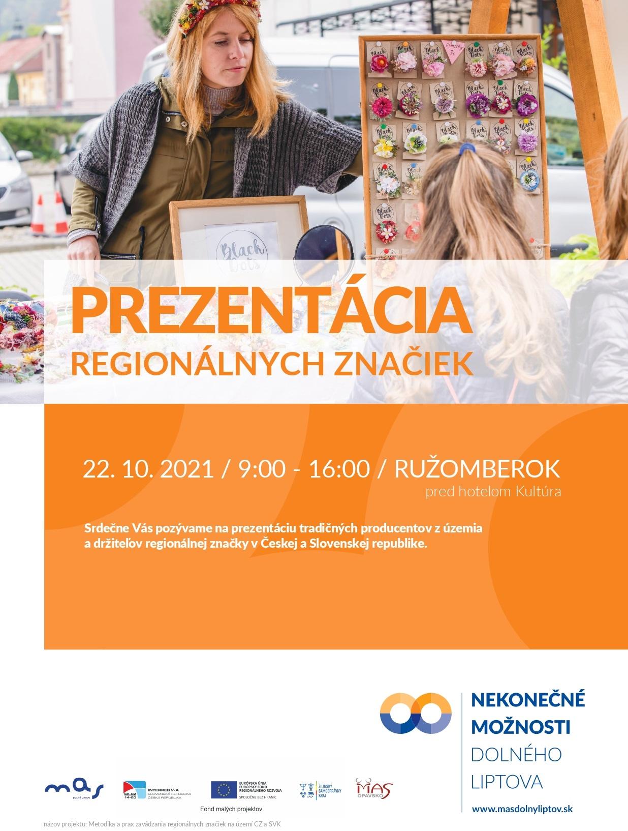 prezentácia regionálnych značiek ružomberok 2021
